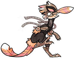 Character SOLD (steampunk) by griffsnuff