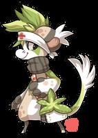 #114 Floral Bagbean - Aloe by griffsnuff