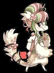 #124 Mythical bagbean - Pegasus by griffsnuff
