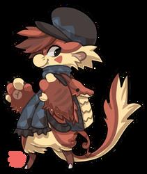 #126 Mythical Bagbean - Welsh dragon by griffsnuff