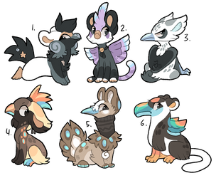 Some Gryphon designs closed! by griffsnuff