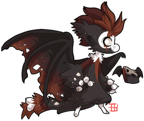 #805 Cursed Charity Mythical BB w/m - Taraxippus by griffsnuff