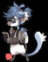 #861 Bagbean - Blue Paradise Flycatcher by griffsnuff