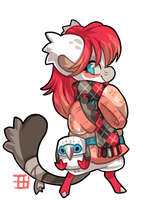 #993 Bagbean w/m - Red footed booby by griffsnuff
