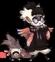 #1129 Mythical BB - Ferret Pheonix by griffsnuff