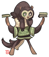 #168 Bavom - Soldier - Spectacled Bear by griffsnuff