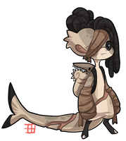 #1163 Bagbean - Helicoprion by griffsnuff