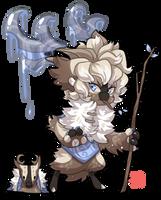 #1172 Mythical BB - Eikthyrnir by griffsnuff