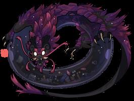 #41 Terradragon -Antimatter -Void Well Monster HP by griffsnuff