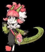 #1286 Mythical BB - Fruit Dragon by griffsnuff