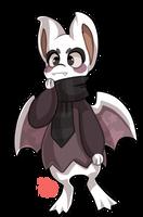 #749 Kryptox - Purple bat by griffsnuff