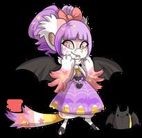 #1351 Legendary BB - Candy bat by griffsnuff