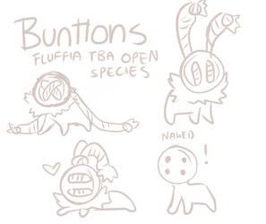 Fluffia TBA Open species! by griffsnuff