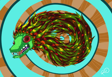 Quetzalcoatl by Riquis101