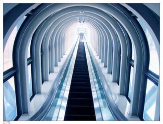 Osaka Umeda Escalator by ManixTT