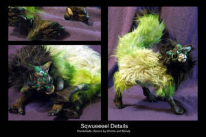 Sqwueeeewul Details by WormsandBones