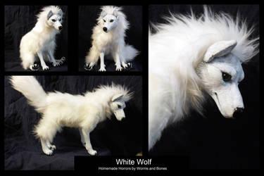 White Wolf by WormsandBones