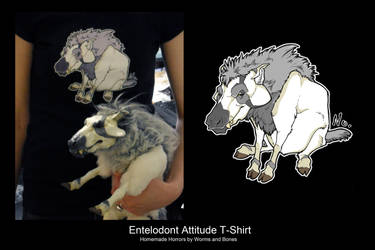 Prophoria the Entelodont is a T-Shirt...? by WormsandBones