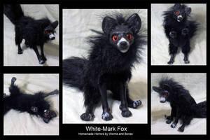 White Mark Fox by WormsandBones