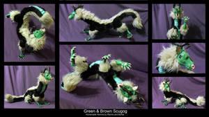 Green and Brown Scugog by WormsandBones