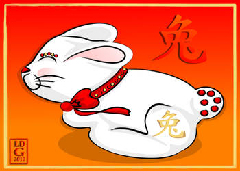 Year of the Rabbit Cute by lehsa