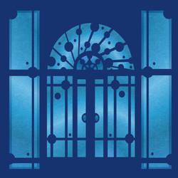 What's behind the blue door? by lehsa