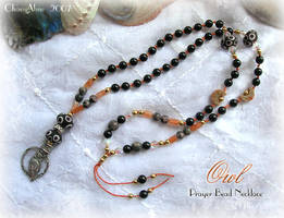 OWL Prayer Beads by ChaeyAhne