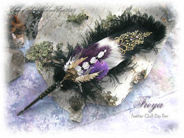 Freya Feather Quill Pen by ChaeyAhne