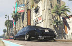 GTA V: Maybach S600 Pullman (VIP style) by 1970superbird
