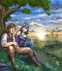 Safia Commission by StriderDen