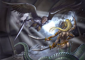 Son of Divine, Daughter of Deceiver by StriderDen