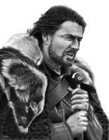 Eddard Stark - Game of Thrones by Naitho