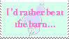 Barn pastel stamp - by Timelord909