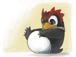 NGE: Penguin feeties by LolaKills