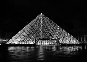 Pyramid Nocturne by Nekrov-Photography