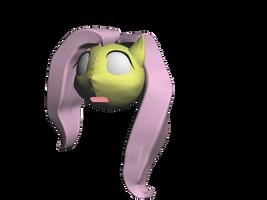 Fluttershy Head! (almost done) WIP 2 by Nekomimi-Chan00