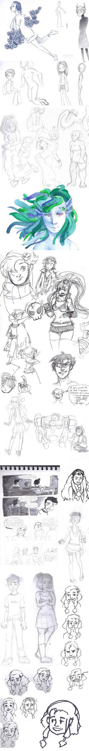 Sketchdumpdd by Amandazon