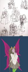 homestuck sketchdump 12 by Amandazon