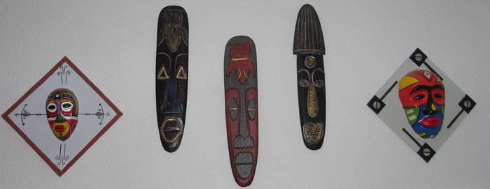 African Masks by Jakeukalane