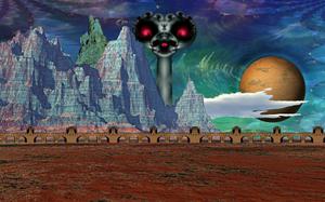 Paradoxical Skies III: The Desolation by Jakeukalane