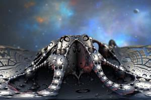 A Fractal Stellar Frog by Jakeukalane