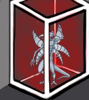 A Silver dussian imprisoned by Jakeukalane