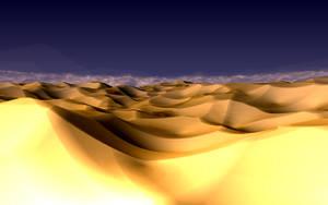 The Desert at the Nunuium Plains by Jakeukalane