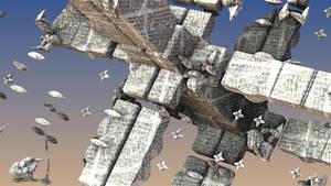 Fractal Satellite by Jakeukalane