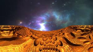 Balconies in space II by Jakeukalane