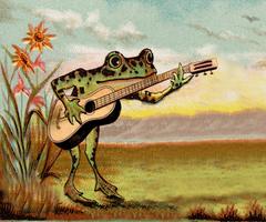 The Rhapsodist Frog by Jakeukalane