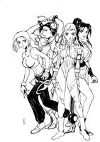 Sexy Game Ladies by alissontorreao