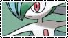 mega gallade stamp by uimeon