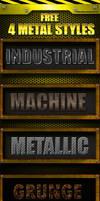 Metal Styles by XvideokidX