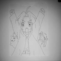 Chibi Full Metal Alchemist (copy) by DownStarGamer